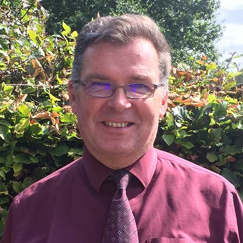 Mr Clive Hellawell, Principal of Stockland Primary Academy