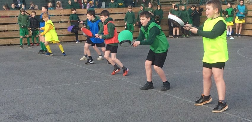 Pancake Race At Stockland Primary Academy