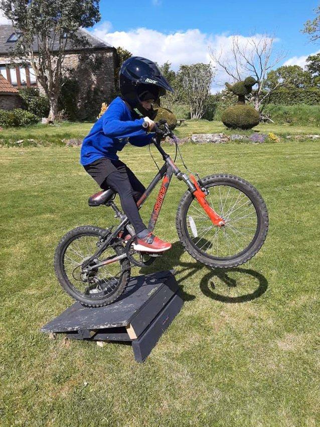 2.6 Challenge On A Bike!