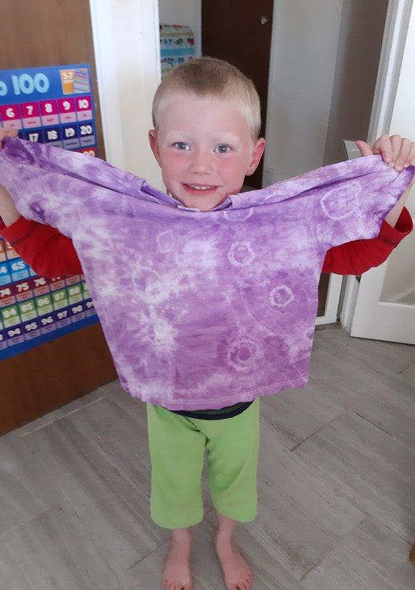 Tie-dye Home Learning!
