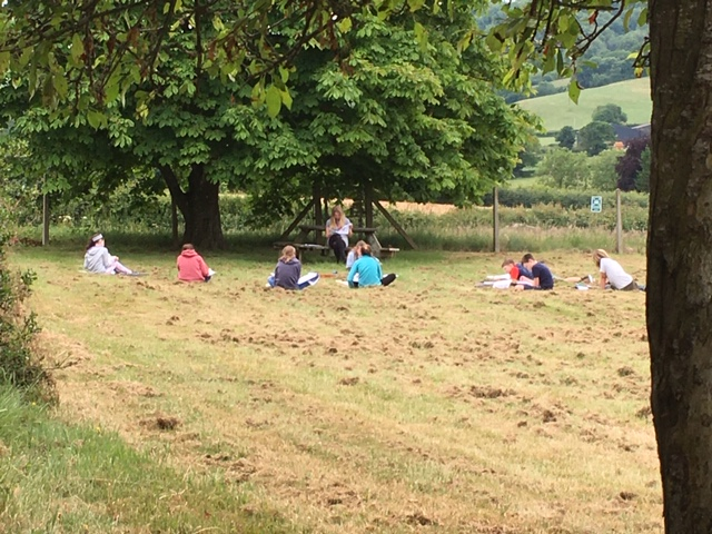 Outdoor Learning At School!