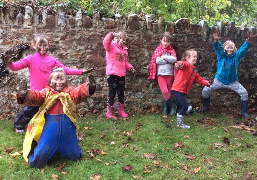 Forest School And MUD!