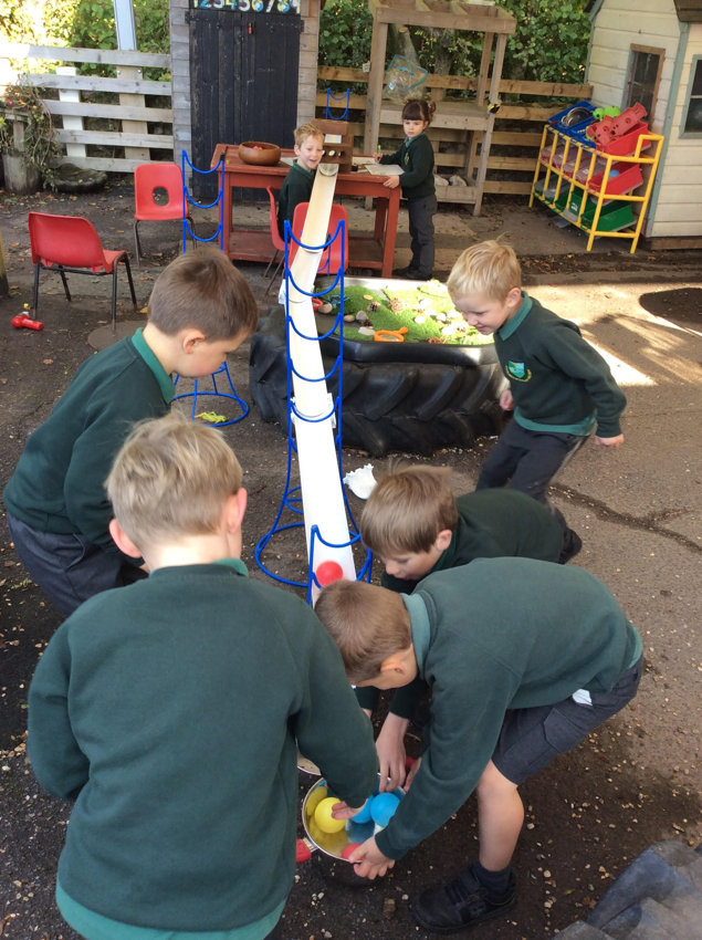 Class 1 Working Together