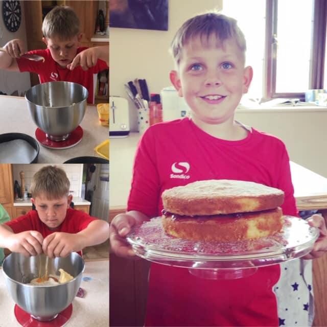Home School Cooking!